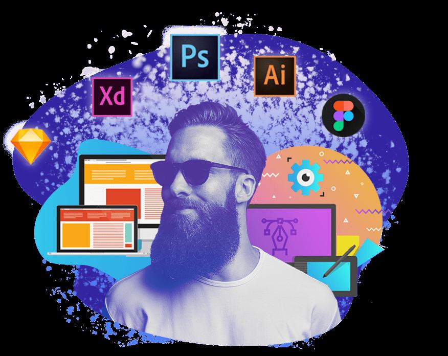 Веб-дизайн UI/UX