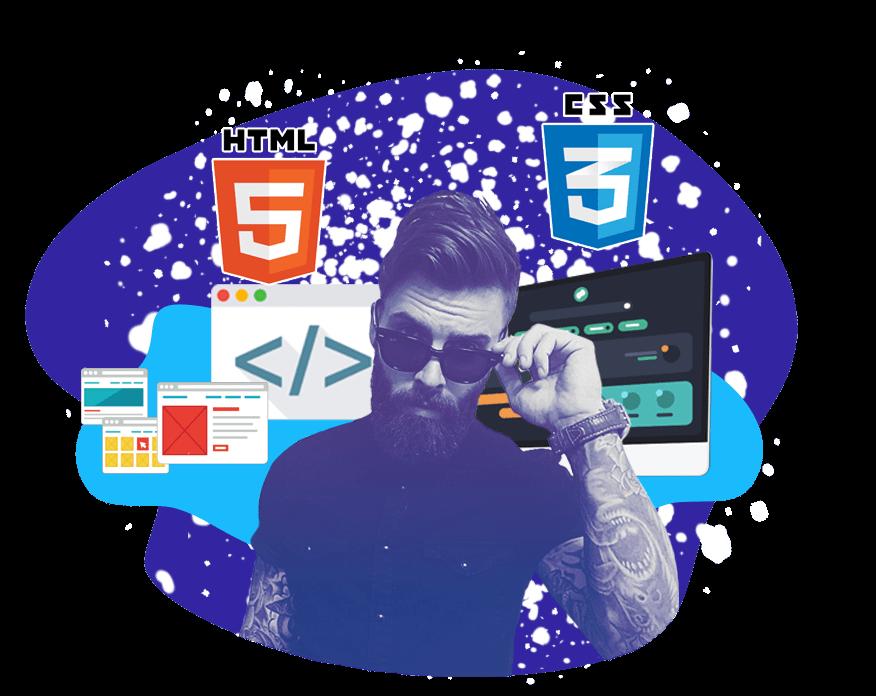 Курсы HTML+CSS<br> Вёрстка сайтов  в Казани
